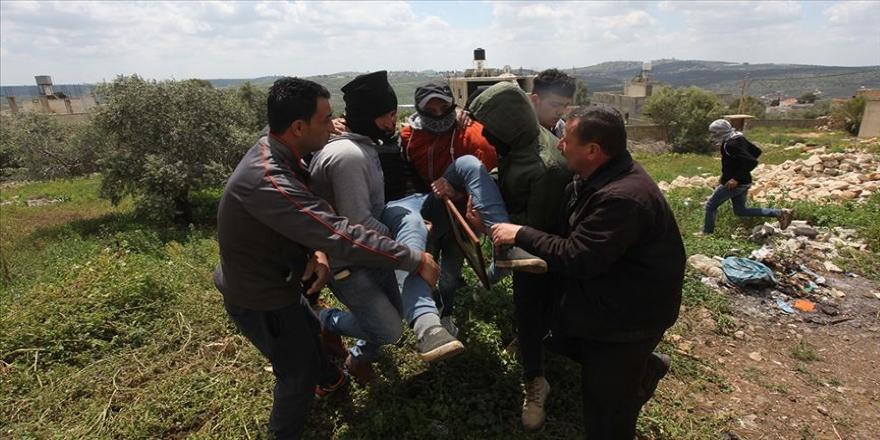 İsrail işgal güçleri Batı Şeria'da 6 Filistinliyi yaraladı