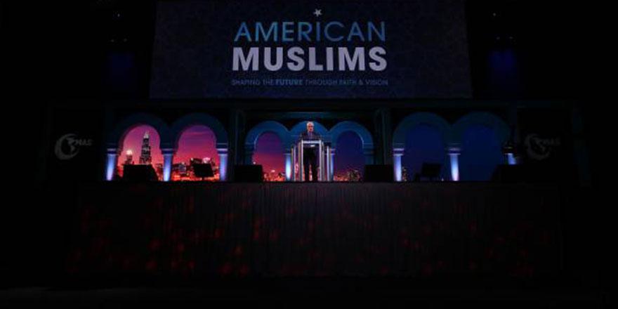 Onbinlerce Müslüman, Amerika'da İslam'dan dersler için birarada