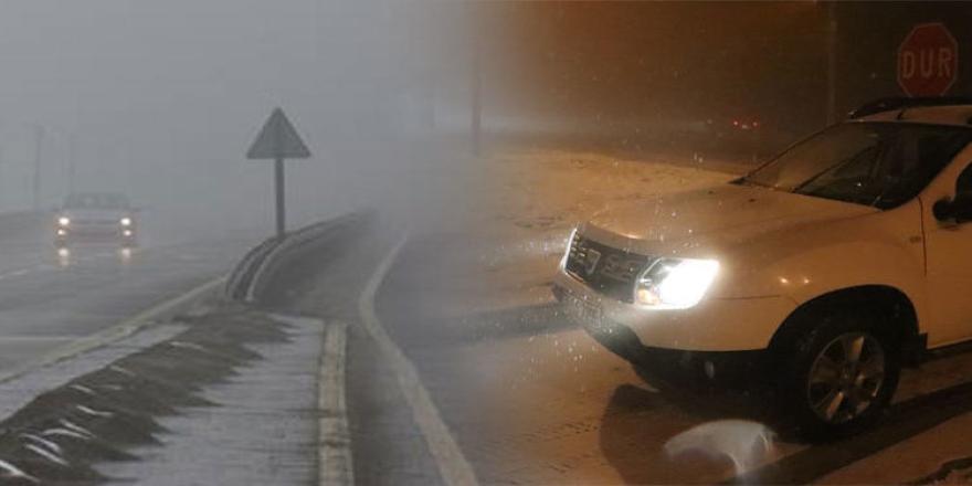 Bolu Dağı'nda kar etkisini sürdürüyor