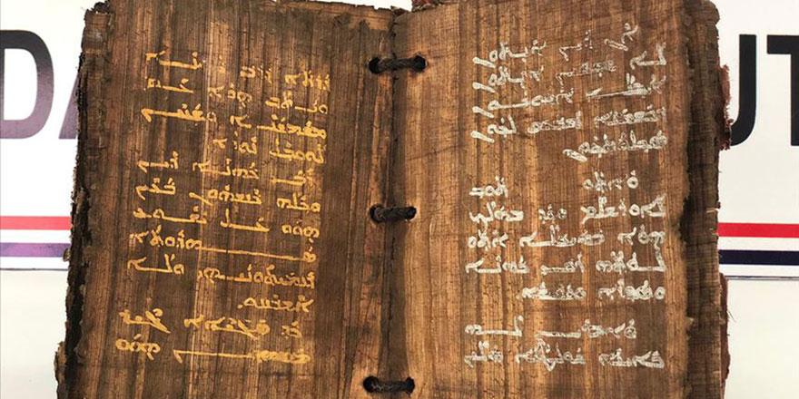 Bin 300 yıllık olduğu tahmin edilen dini kitap ele geçirildi