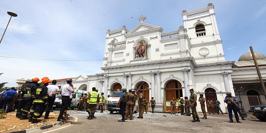 Sri Lanka'da kiliselerde ve otellerde saldırılarda ölü sayısı 185'e yükseldi