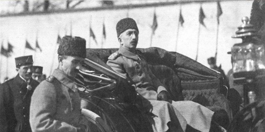 M.Kemal'in padişah ve hilafet için yaptığı takiyye mektubu