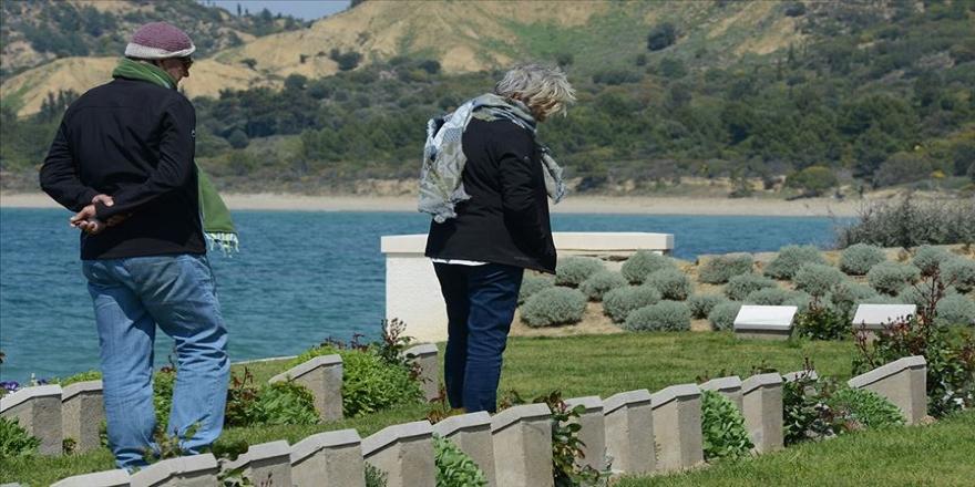 Avustralya ve Yeni Zelandalı Anzak torunları Çanakkale'de