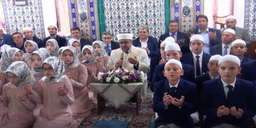 Yunanistan'daki Müslüman Türk azınlıklar hatim töreni düzenledi