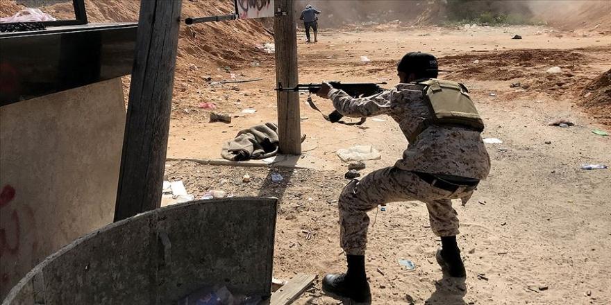 Libya'da UMH El-Aziziye bölgesini Hafter güçlerinden geri aldı