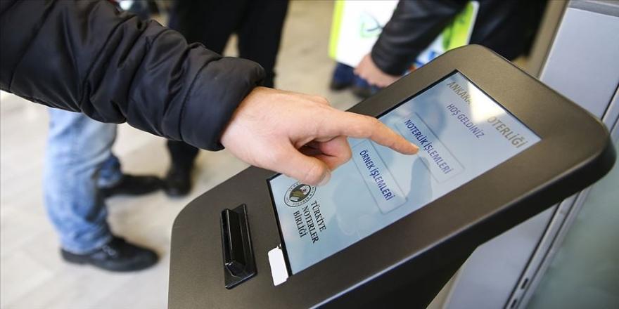 Noterlerde kredi kartıyla ödeme işlemleri 3 Şubat'ta başlayacak