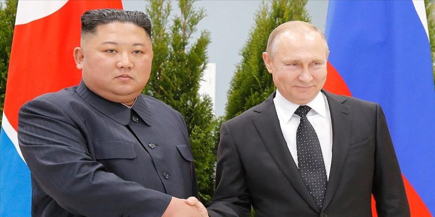 Putin ile Kuzey Kore lideri Kim bir araya geldi