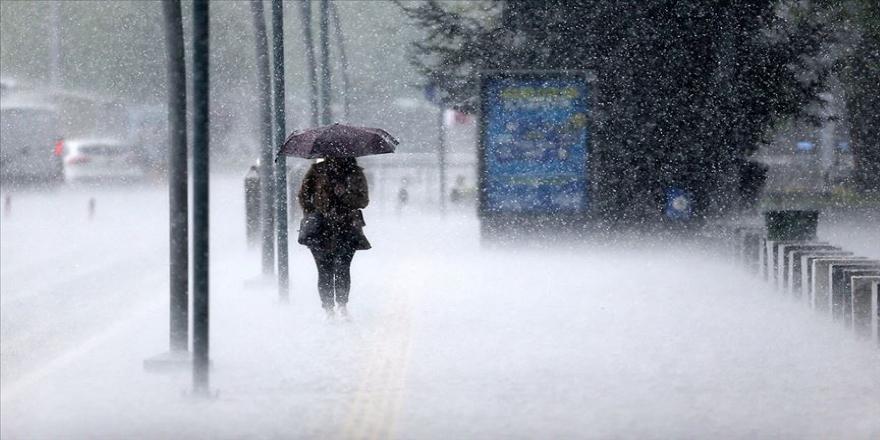 Meteorolojiden sağanak yağış uyarısı