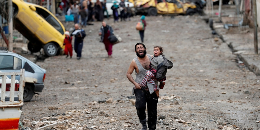 """""""ABD liderliğindeki koalisyon, Rakka'da 2017'de deaş ile mücadele ederken 1600 sivil öldürdü"""""""