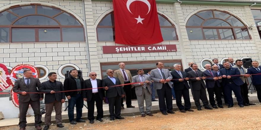Bozyazı'da cami törenle açıldı