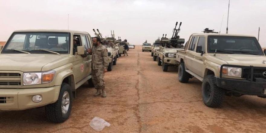 Libya'da UMH Yermuk Kampı'nı Hafter güçlerinden aldı