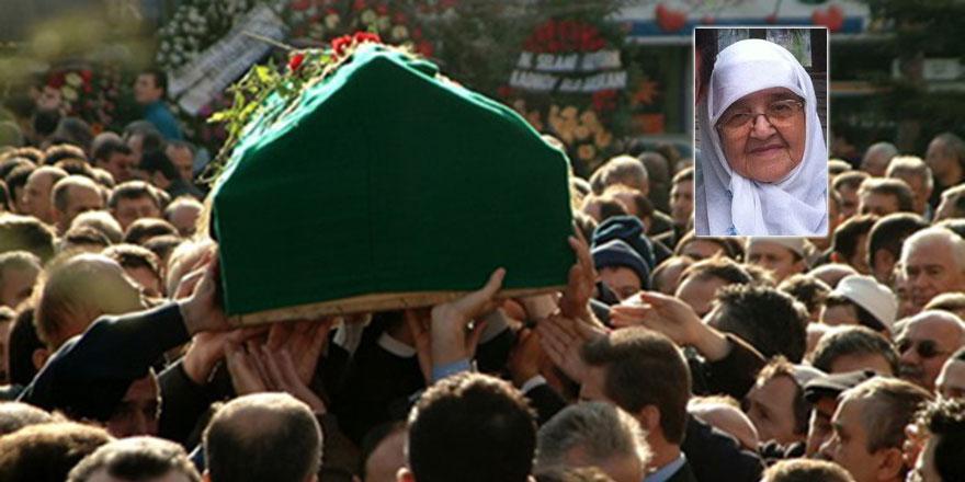Bediüzzaman'ın çocuk şahitlerinden Kezban Tokpınar vefat etti