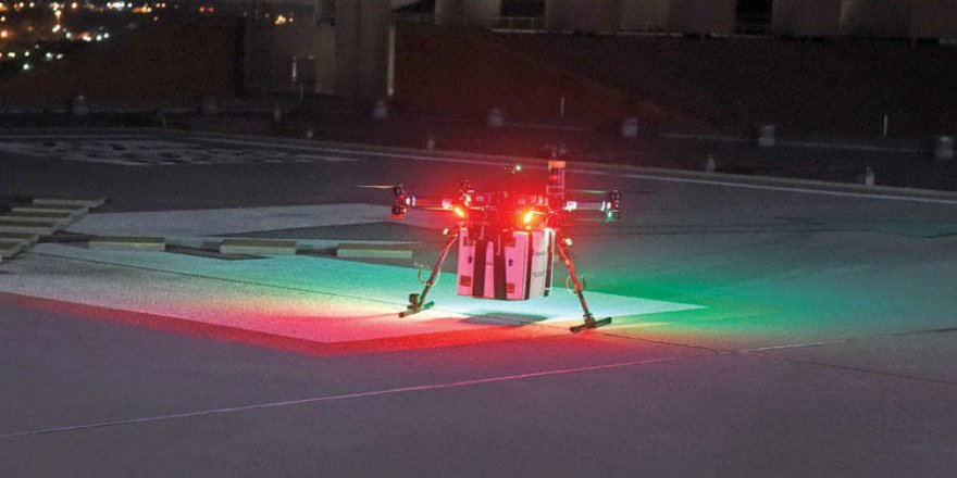 Drone yardımı ile böbrek nakli yapıldı