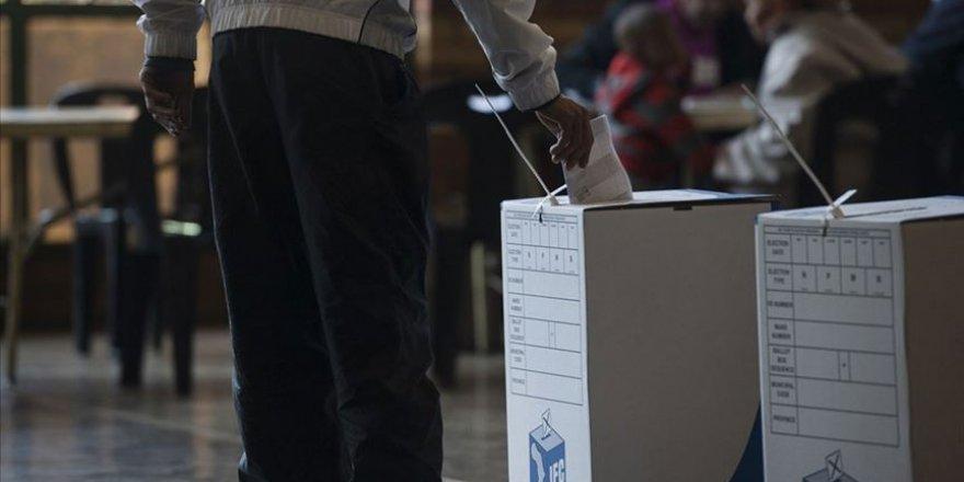 Güney Afrika'da seçim zamanı