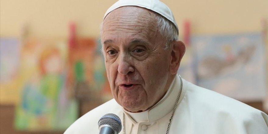 Papa'dan Roma'daki ırkçılığa tepki