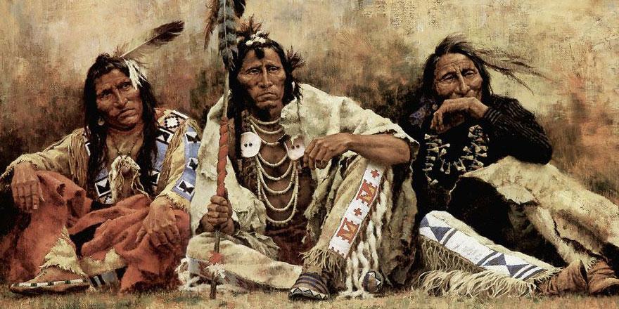 Müslümanlar Kızılderililerle Selamün Aleyküm ile iletişim kurdu