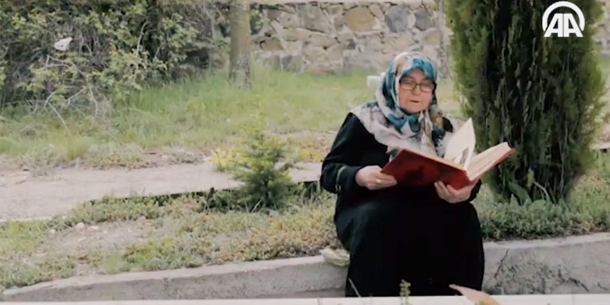 Jandarma Genel Komutanlığından Kur'an'lı Anneler Günü videosu