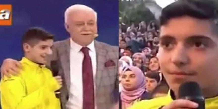 Nihat Hatipoğlu'nun programında Müslüman oldu