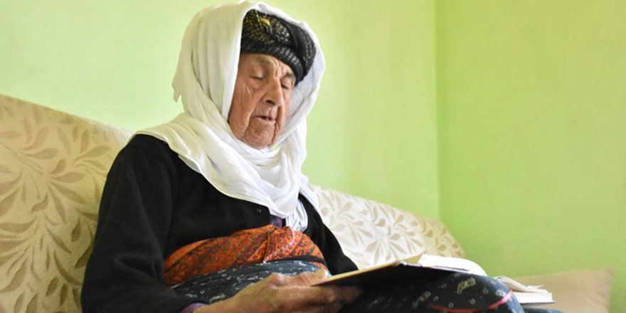 105 yaşındaki Zeynep Nine 98. orucunu tutuyor