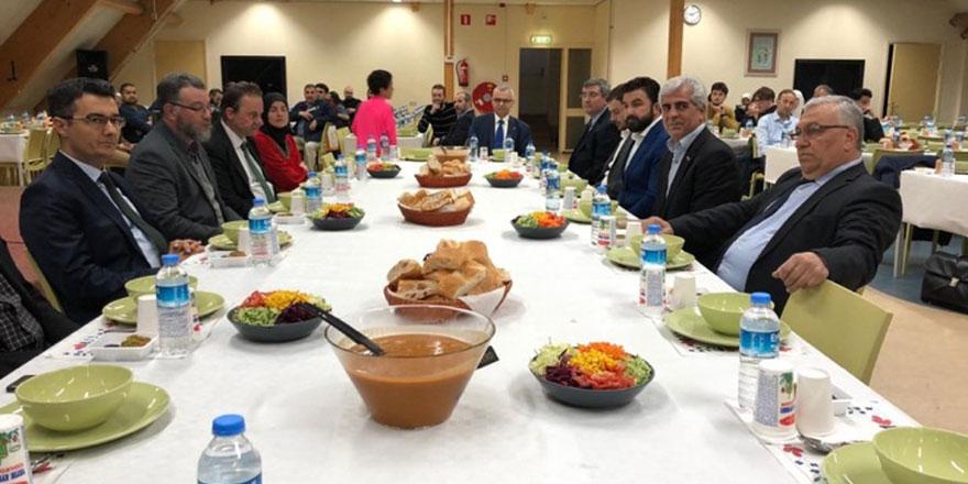 Rotterdam İslam Üniversitesi'nin (IUR) geleneksel iftar programı yapıldı