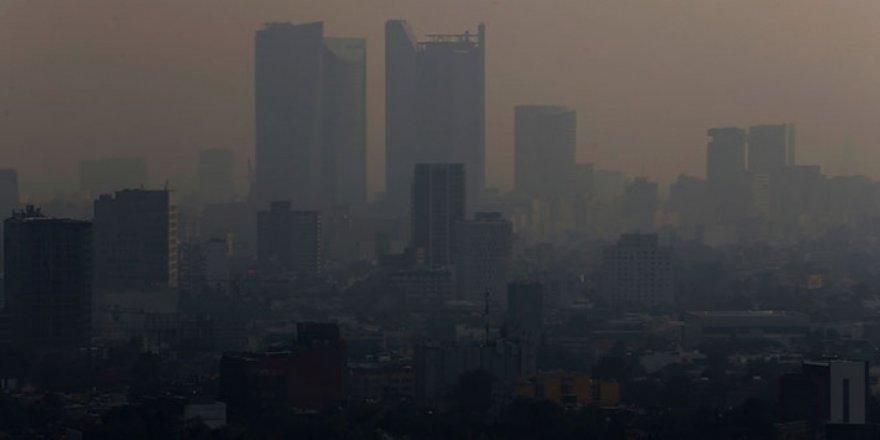 Meksika'da hava kirliliği acil durum getirdi