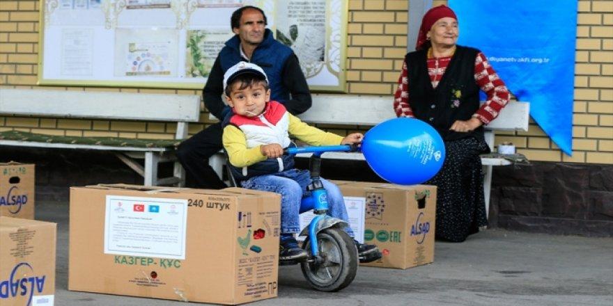 Türkiye Diyanet Vakfı'ndan Kazakistan'da gıda yardımı