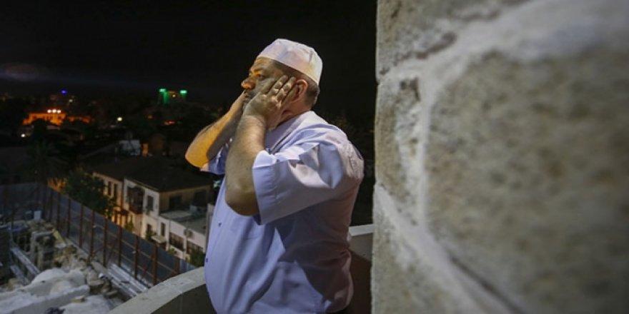 Fetih simgesi camide 123 yıl sonra ilk ezan okundu