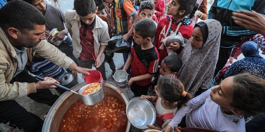 Gazzeli yoksulların karnı burada doyuyor