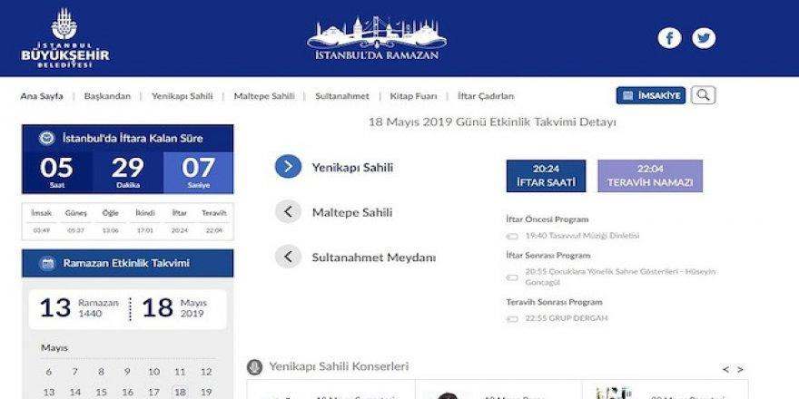 İstanbul'daki Ramazan etkinlikleri bu sitede