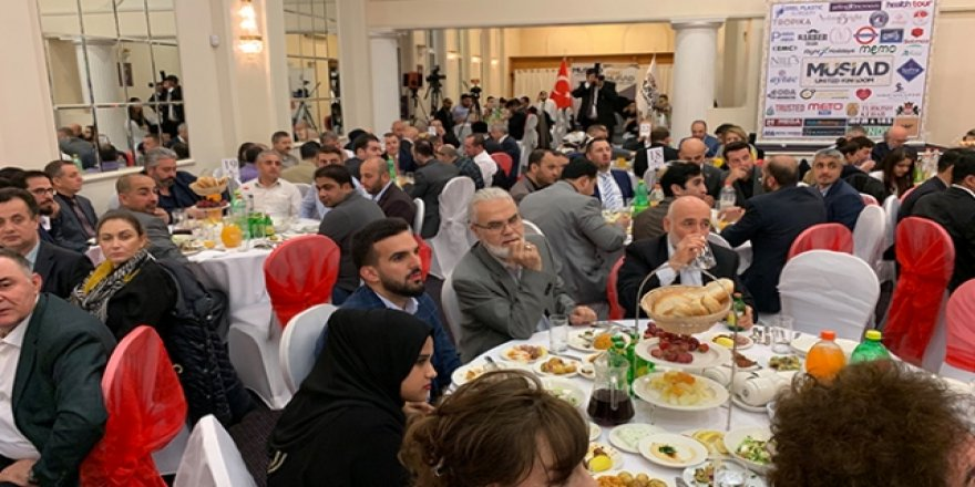 MÜSİAD'dan Londra'da iftar programı