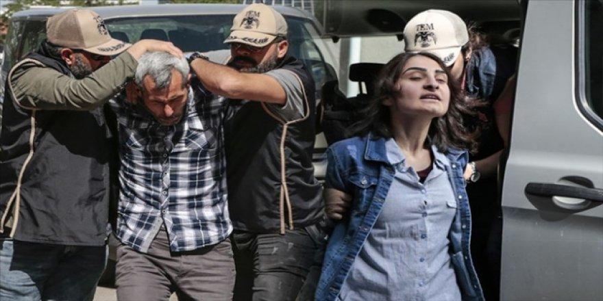 TBMM'ye girmeye çalışan teröristler tutuklandı