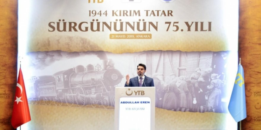 YTB'den Kırım Tatar Sürgünü için anma töreni