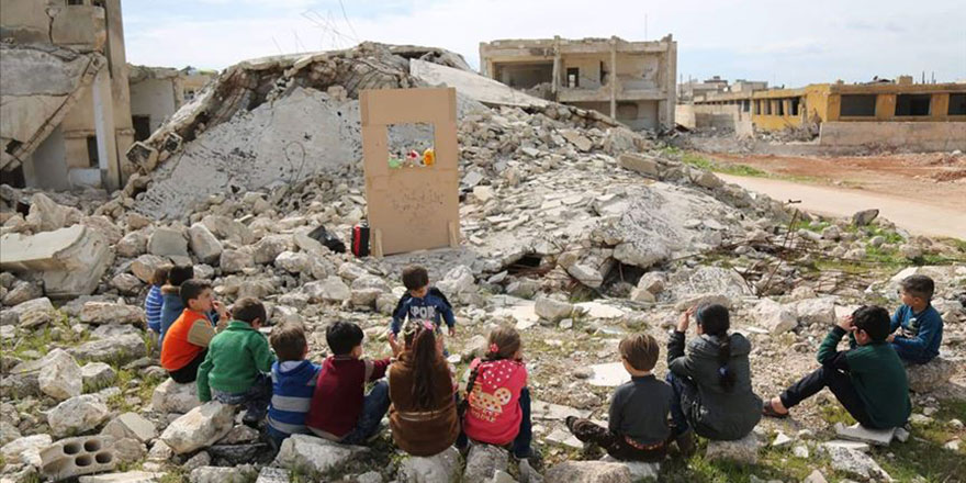 Esed, İran, Rusya, İdlib ve Hama'da nisan ayında 38 çocuk öldürdü