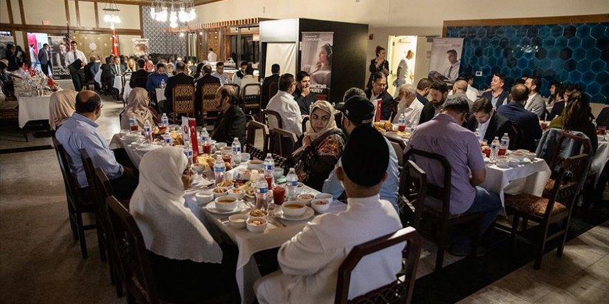 Türk Hava Yolları ABD'de iftar verdi