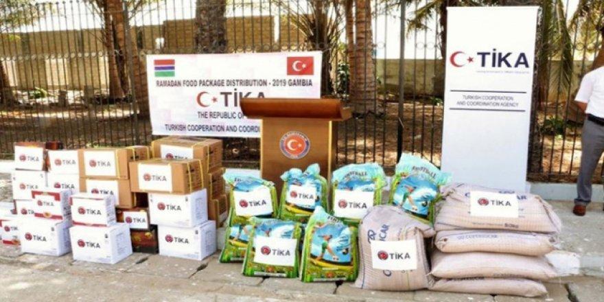 TİKA'dan Gambiya'da ramazan yardımı