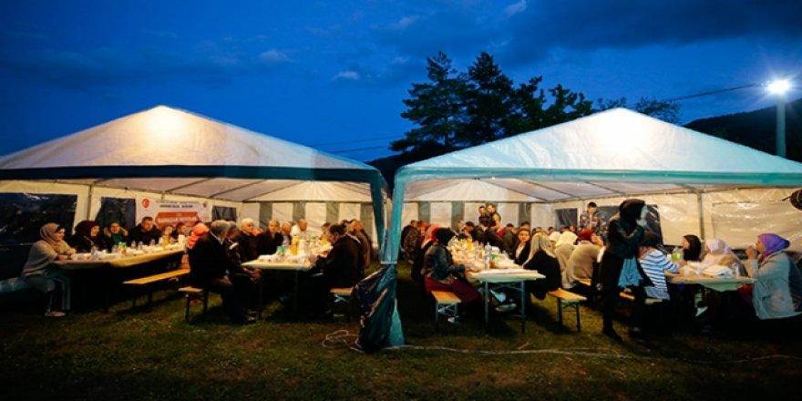 Türkiye Diyanet Vakfı'ndan Bosna-Hersek'te iftar