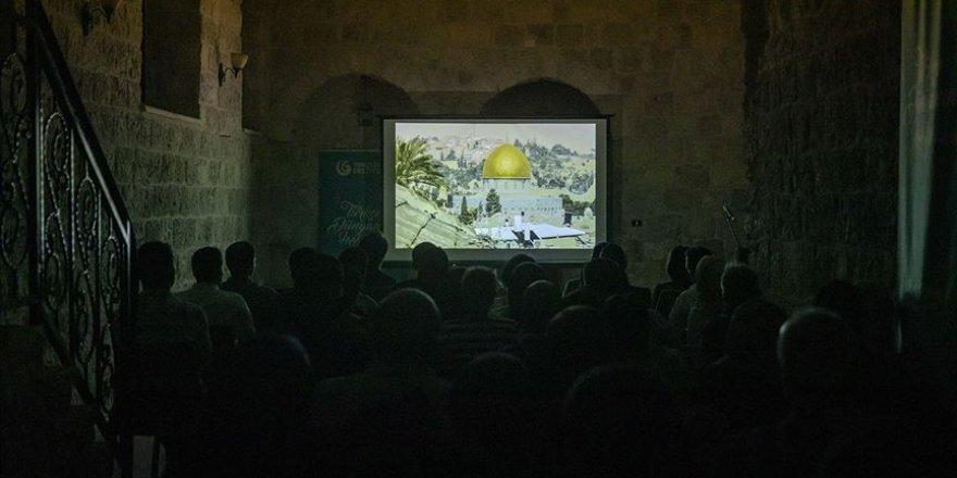 İşgal altındaki Doğu Kudüs'te belgesel gösterimi
