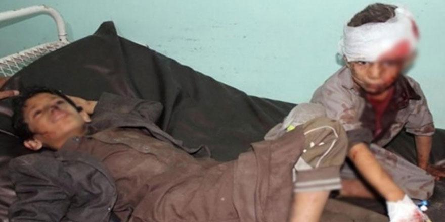 Suudi koalisyonu Yemen'de 27 çocuğu katletti
