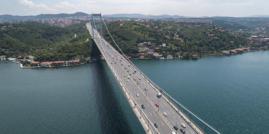 15 Temmuz Şehitler Köprüsü'nde düzenleme