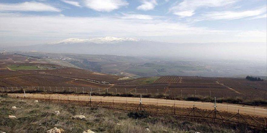 Suriye'den Golan Tepelerine havan topu saldırısı