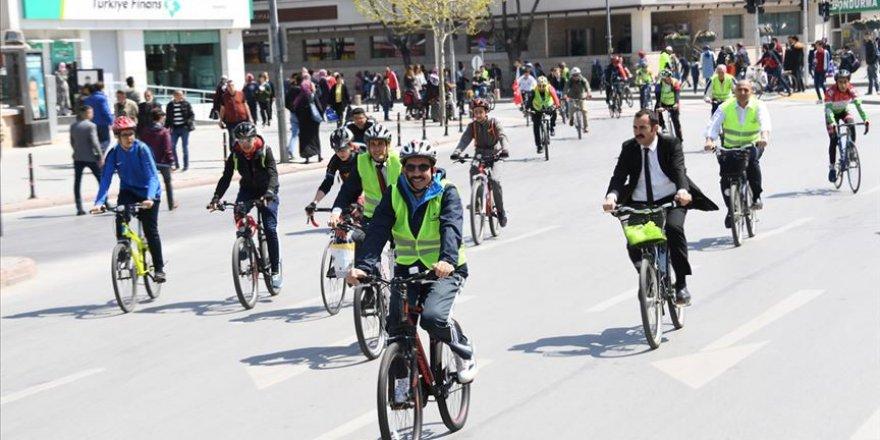 Bu şehirde her hanede bir bisiklet var