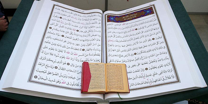 """Batman'da """"evde kal"""" çağrısı Kur'an-ı Kerim ve dini kitaplara rağbeti artırdı"""