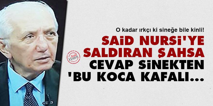 Said Nursi'ye saldıran Cazim Gürbüz'e cevap sinekten: Bu koca kafalı...