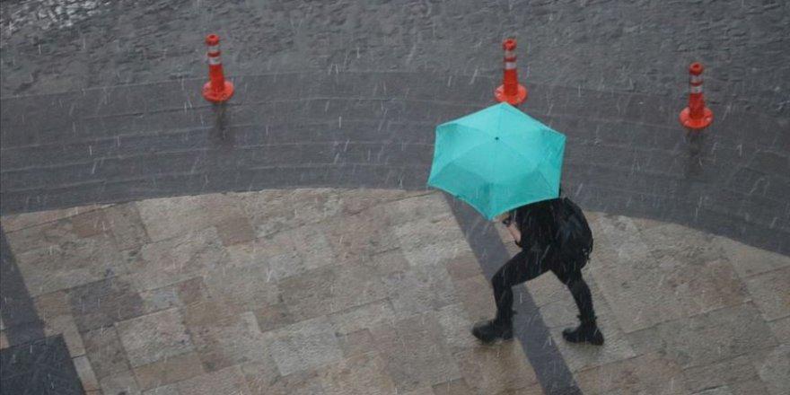 Doğudaki iki ilimiz için yağış uyarısı