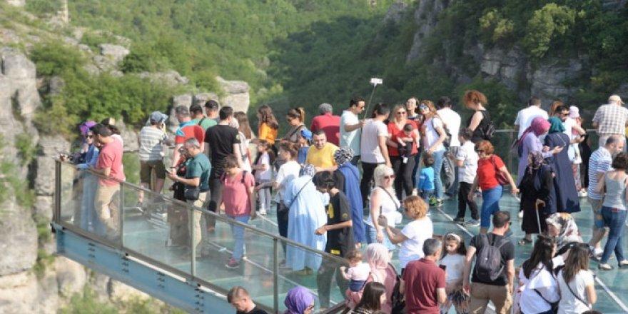 Safranbolu tatilde nüfusunun 3 katı kadar misafir ağırladı
