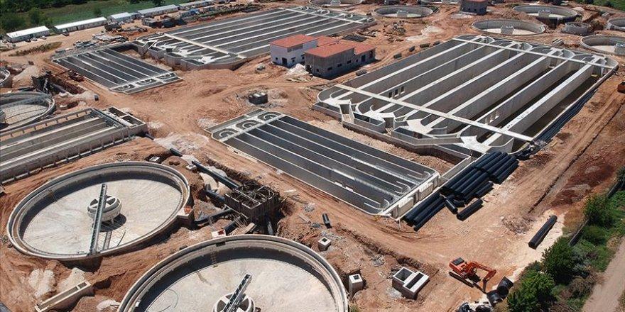 Gaziantep'in 'dev arıtma tesisi' tamamlandı