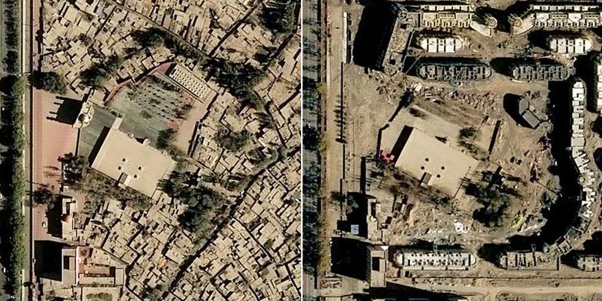 Çin, camilerden sonra türbe ve mezarları da yıkmaya başladı