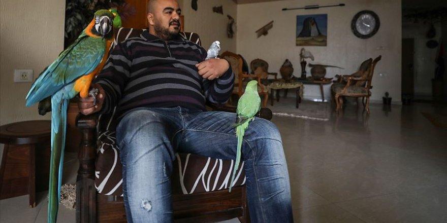 Filistinli hayvansever evini hayvanat bahçesine dönüştürdü