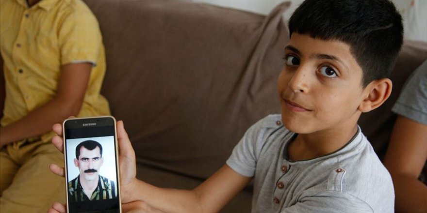 Suriyeli yetim çocukların 'Babalar Günü' sözleri