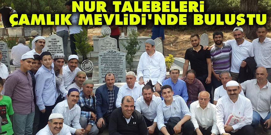 Nur talebeleri Ahmet Feyzi Kul Çamlık Mevlidi'nde buluştu